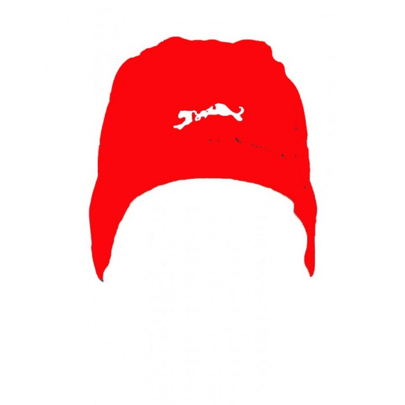 Caciula Sub Casca Bars Aqua Zero Red