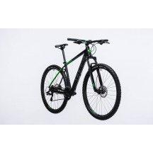 Bicicleta Cube AIM Pro Black Green 2017