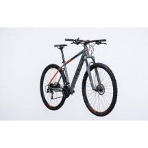 Bicicleta Cube AIM Race Grey Flashorange 2017