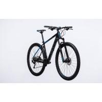 Bicicleta Cube Attention Black Blue 2017