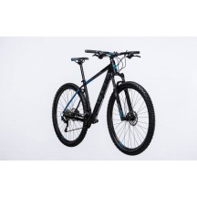 Bicicleta Cube Attention Black Blue 2017
