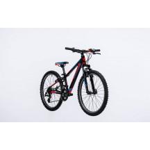 Bicicleta Cube Kid 240 Black Flashred Blue 2017