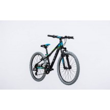 Bicicleta Cube Kid 240 Black Blue 2017
