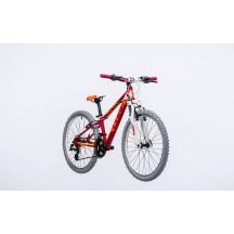 Bicicleta Cube Kid 240 Girl Berry White 2017