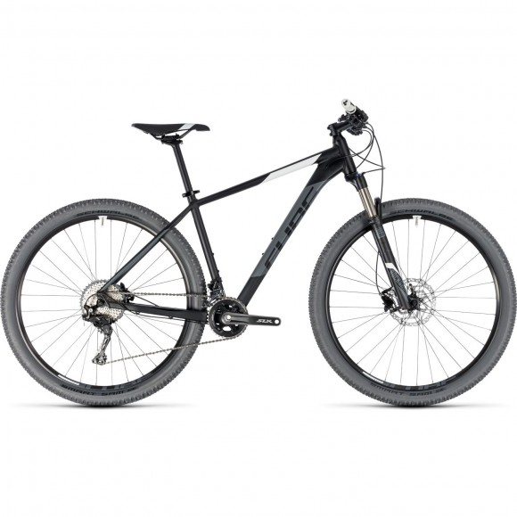 Bicicleta Cube Acid Black White 2018