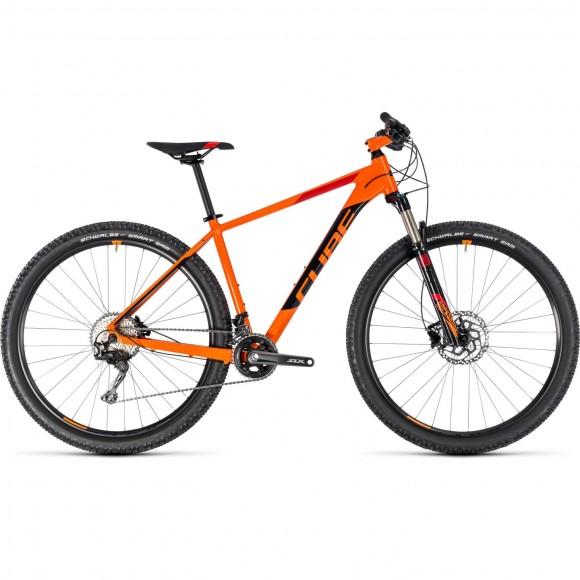 Bicicleta Cube Acid Orange Black 2018