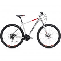 Bicicleta Cube AIM Race White Red 2018