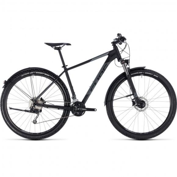Bicicleta Cube AIM SL ALLROAD Black Grey 2018