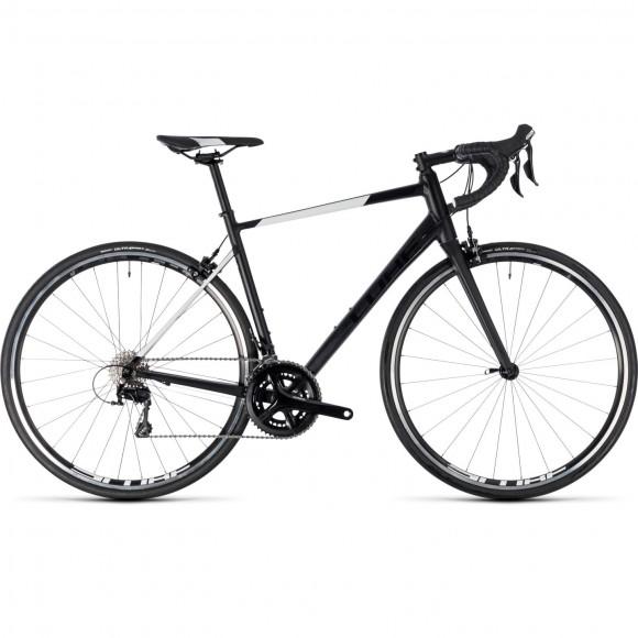 Bicicleta Cube Attain SL Black White 2018