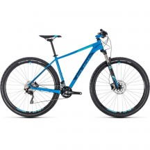 Bicicleta Cube Attention SL Aqua Blue 2018