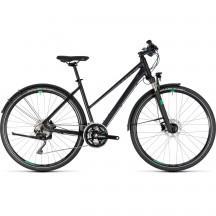 Bicicleta Cube Cross Allroad Trapeze Black Green 2018