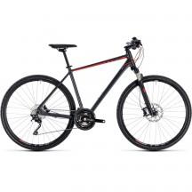 Bicicleta Cube Cross Exc Iridium Red 2018