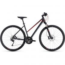 Bicicleta Cube Cross Exc Trapeze Iridium Red 2018