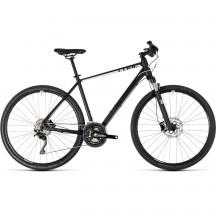 Bicicleta Cube Cross Pro Black White 2018