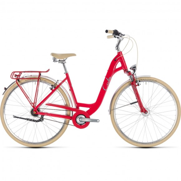Bicicleta Cube Elly Cruise Easy Entry Red Mint 2018