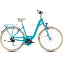 Bicicleta Cube Elly Ride Easy Entry Aqua Orange 2018