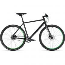 Bicicleta Cube Hyde Race Black Green 2018