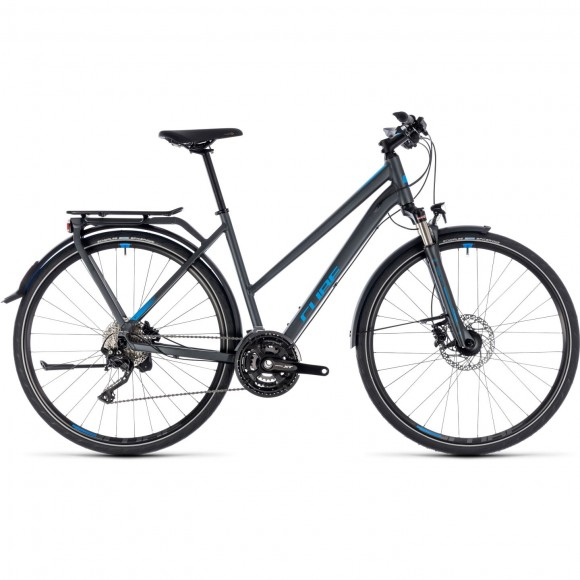Bicicleta Cube Kathmandu Exc Trapeze Iridium Blue 2018