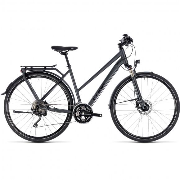 Bicicleta Cube Kathmandu Pro Trapeze Iridium Black 2018