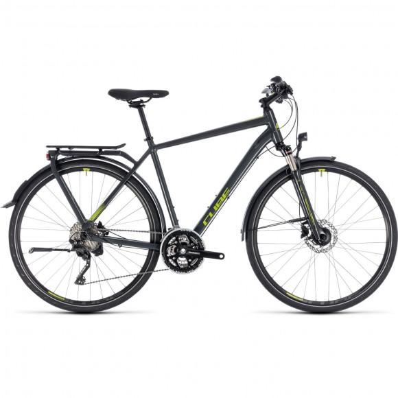 Bicicleta Cube Kathmandu Pro Iridium Green 2018