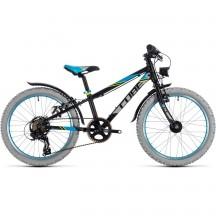 Bicicleta Cube KID 200 ALLROAD Black Blue 2018