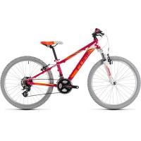 Bicicleta Cube Kid 240 Berry White 2018