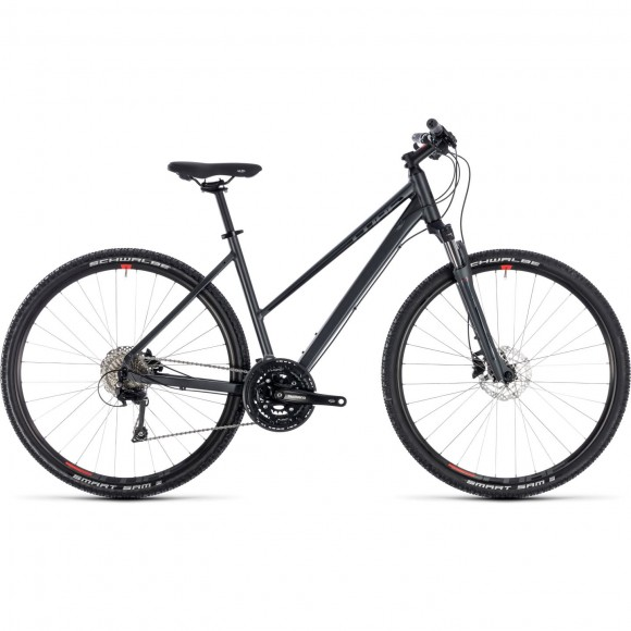 Bicicleta Cube Nature Exc Trapeze Red 2018