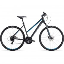 Bicicleta Cube Nature Trapeze Iridium Blue 2018