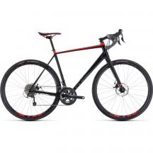 Bicicleta Cube Nuroad Black Red 2018