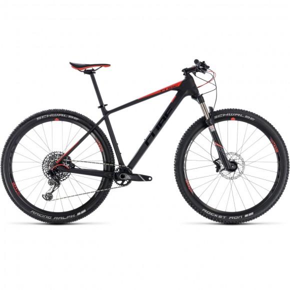 Bicicleta Cube REACTION C:62 PRO Carbon Red 2018