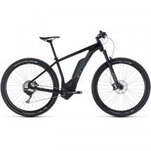 Bicicleta Cube Reaction Hybrid Exc 500 Black Grey 2018