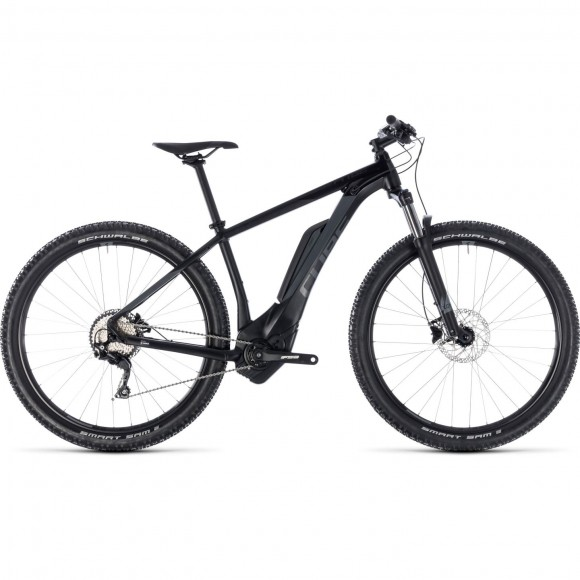 Bicicleta Cube Reaction Hybrid Pro 500 Black Grey 2018