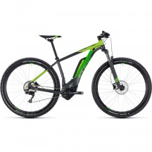 Bicicleta Cube Reaction Hybrid Pro 500 Iridium Green 2018