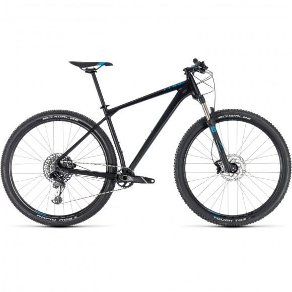 Bicicleta Cube REACTION RACE Black Blue 2018
