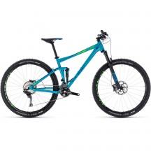 Bicicleta Cube STEREO 120 RACE Blue Green 2018