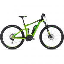 Bicicleta Cube Stereo Hybrid 120 Exc 500 GreenLeaf Green 2018