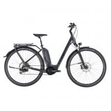 Bicicleta Cube Touring Hybrid SL 500 Easy Entry Iridium Red 2018