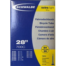 "Camera Schwalbe 28"" Extra Light SV20 60mm"