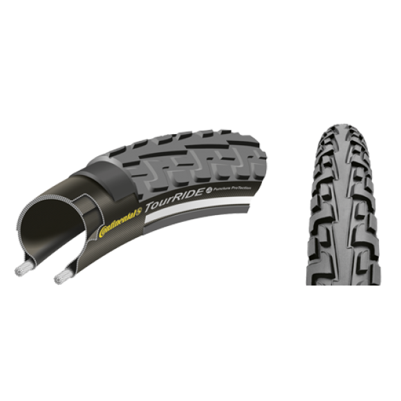 Anvelopa Continental TourRide Puncture-ProTection 47-559 (26x1.75)