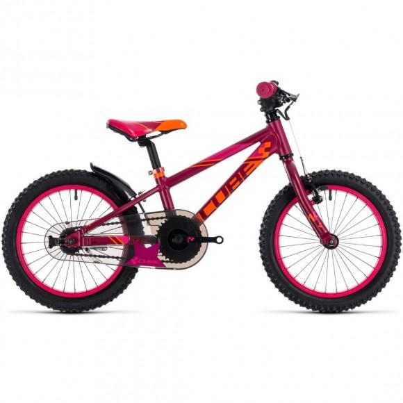 BICICLETA CUBE KID 160 Girl Berry Pink 2018