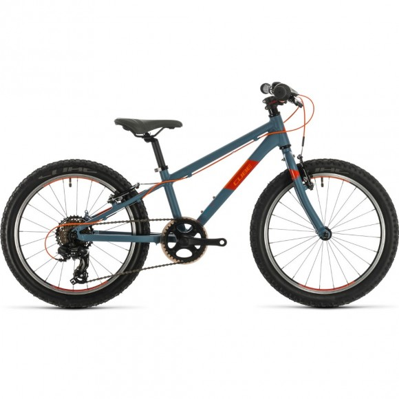 BICICLETA CUBE ACID 200 Grey Orange