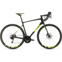 BICICLETA CUBE Attain GTC Race Carbon Falshyellow 2020