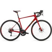 BICICLETA CUBE Attain GTC Sl Red Orange 2020