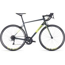 BICICLETA CUBE Attain Grey Flashyellow 2020