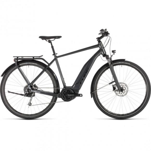 Bicicleta Cube Touring Hybrid 500 Iridium Black 2019