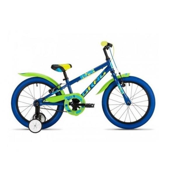 "Bicicleta copii Drag Rush Green Blue 18"""