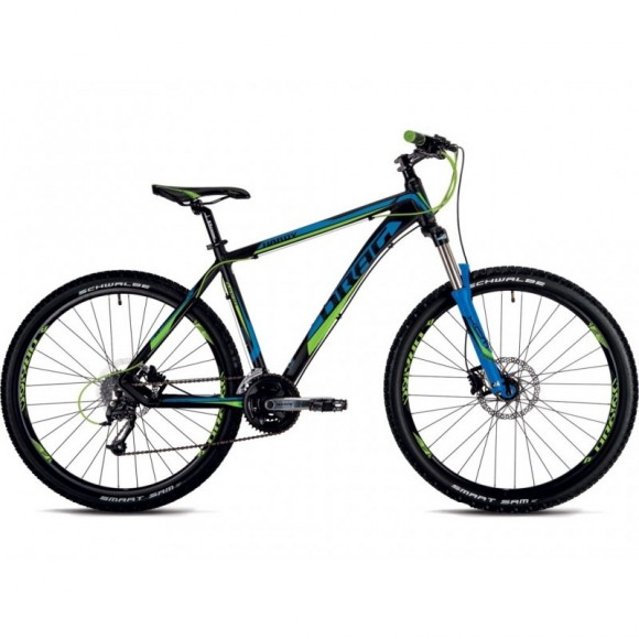 Bicicleta Drag Hardy Base Black Green