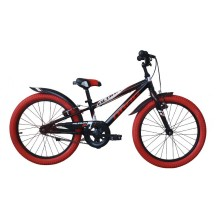 Bicicleta copii Drag Alpha SS Black Red 20""