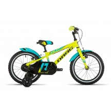 "Bicicleta copii Drag Alpha Blue Lime 16"""