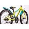 "Bicicleta copii Drag Alpha Blue Neon Green 20"""